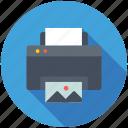 output device, correspondent, fax machine, printer, deskjet