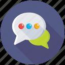 communication, dialogue, chat bubbles, chatting, conversation