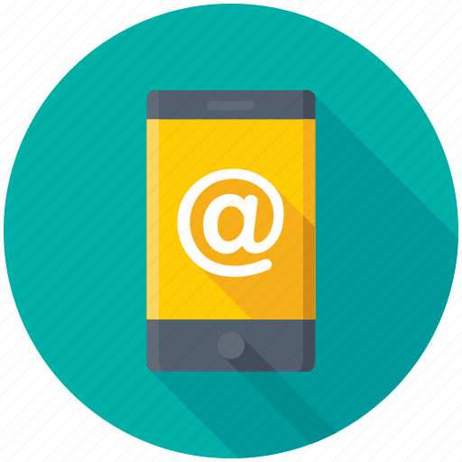 email message, emailing, mobile internet, newsletter, online communication icon