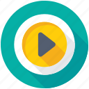 media, media player, multimedia, music player, video player icon