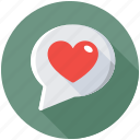 love chat, love chat room, love dating, online love, romantic conversation icon