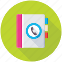 address book, phone book, phone directory, contacts book, yellow pages