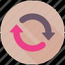 synchronization, arrows, sync, refresh, update