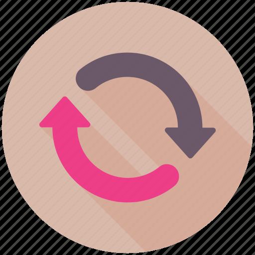 arrows, refresh, sync, synchronization, update icon