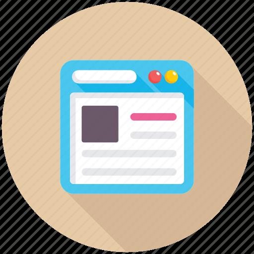 template, web design, web template, website, website layout icon