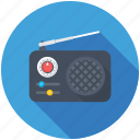 radio station, radio, retro radio, radio set, old radio
