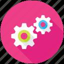 cog, cogwheel, gear wheel, mechanism, settings