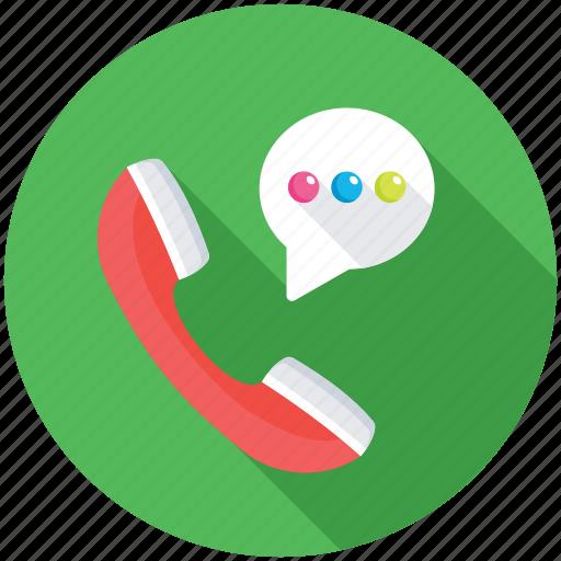 Phone service, call, helpline, hotline, telecommunication icon