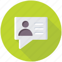 chatting, chit chat, comment, conversation, remark icon