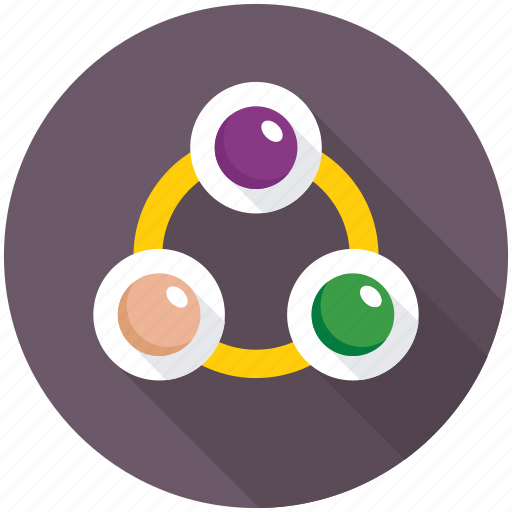 network diagram, network flowchart, network hierarchy, sharing network, sitemap icon