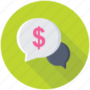 business chat, business communication, digital business, online banking, online business icon