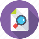audit, document search, document tracking, file preview, view document icon