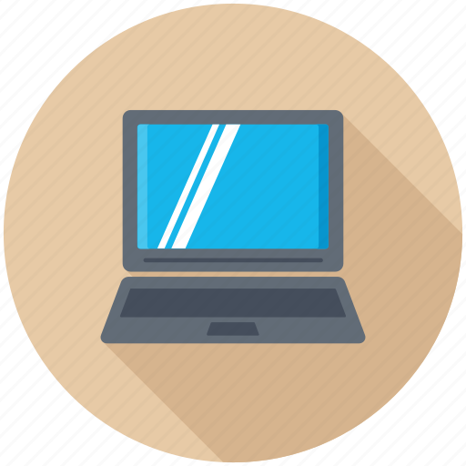 laptop, macbook, mobility, notebook pc, technology icon