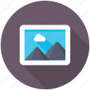landscape, panorama, photo, picture, scenery icon
