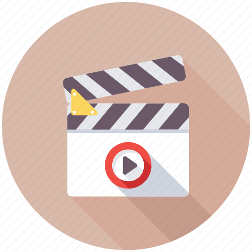 Cinematography, clapperboard, filmmaking, movie clip, multimedia icon - Download on Iconfinder