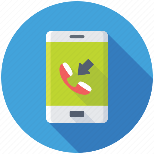 call receive, communication, incoming call, mobile call, phone call icon