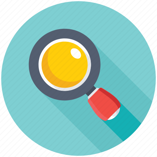loupe, magnifier, search tool, searching, zoom icon
