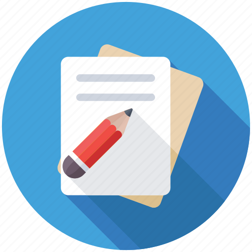 content writing, copywriting, notes, publication, writing icon