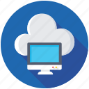 cloud computing, cloud connection, cloud drive, cloud network, cloud storage icon