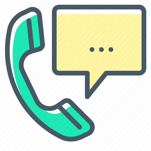 Call, communication, handset, receiver, telephone, call centre icon - Download on Iconfinder