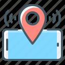 location, mobile, navigation, pin, smartphone