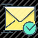 email, envelope, letter, mail, message, delivered letter, delivered mail