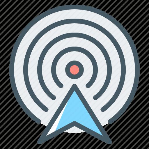 antenna, connection, internet, network, wireless, wireless antenna icon