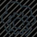 cloud, cogwheel, options, preferences, setting, settings