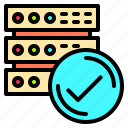 communication, connection, data, information, server, technology, wireless icon