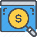 analysis, financial, graph, money, present, presentation icon