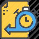 document, file, management, time, timeline