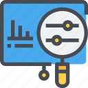 analysis, business, data, present, presentation, research icon