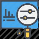 analysis, business, data, present, presentation, research