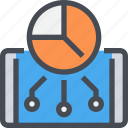 analytics, business, data, mobile, report, smartphone, statistics icon
