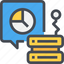 analytics, cloud, connect, data, database, network, server, statistics icon