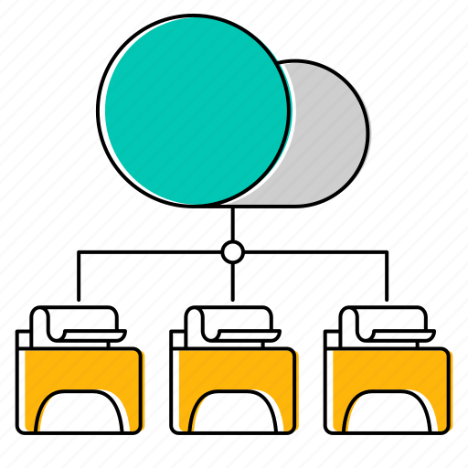 cloud, data, file, hosting icon
