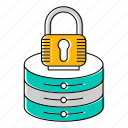 lock, security, server icon