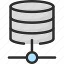 archive, connection, data, network, server, storage icon