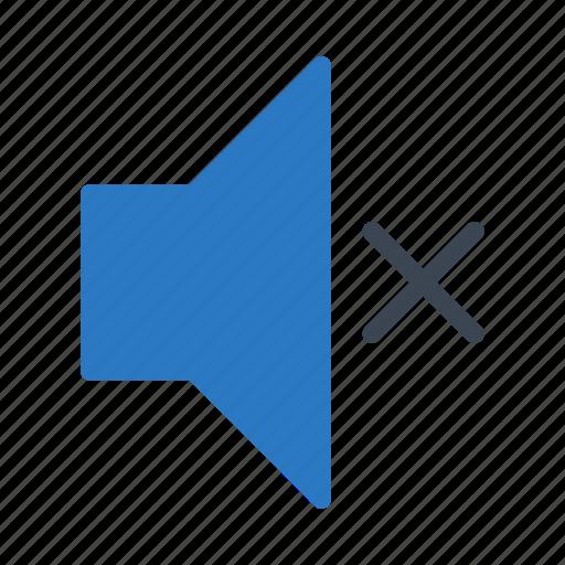 audio, mute, nosound, silent, volumedown icon