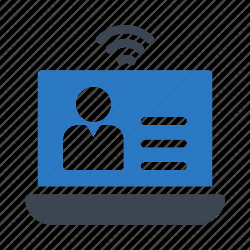 device, hotspot, laptop, notebook, wireless icon