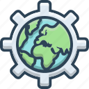 communication, global, globalization, international, network icon