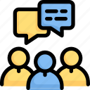 network, communication, discussion, group, meeting, conversation