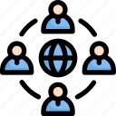 network, communication, network peoples, group, connection, team, global