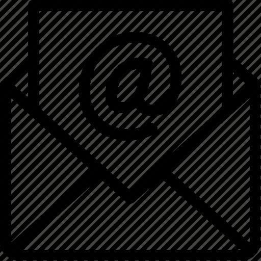 e-mail, mail icon icon