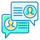 communication, discussion, forum icon