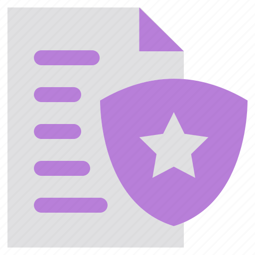 document, guard, network, password, privacy, security icon