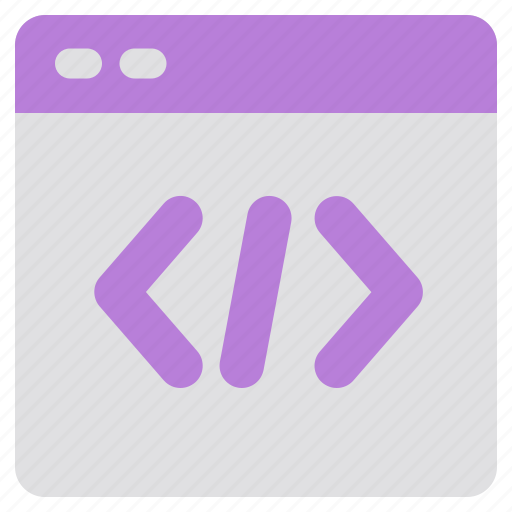browser, code, coding, network, program, security, web icon