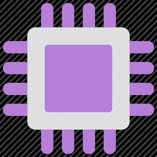 cpu, gpu, network, processor, security icon