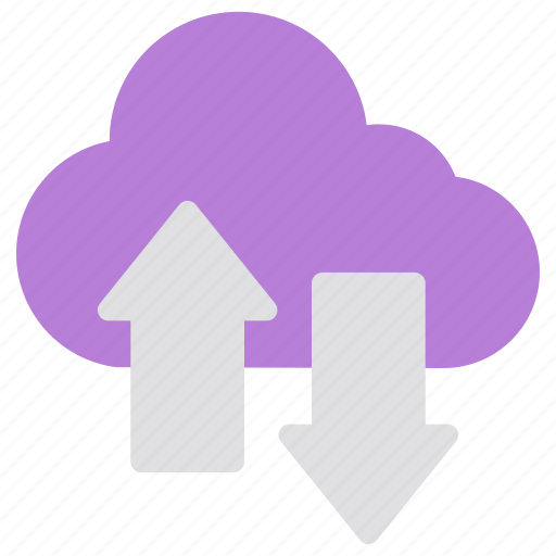 cloud, download, network, security, storage, upload icon