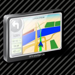 gps, navigator icon